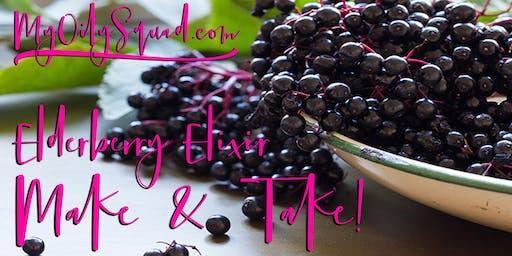 Elderberry Elixir Make & Take!