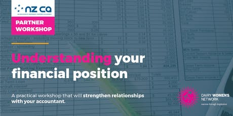 OTAGO - UNDERSTANDING YOUR FINANCIAL POSITION tickets