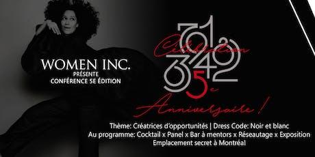 Entrepreneuriat Féminin: Célébration 5 ans de Women Included billets