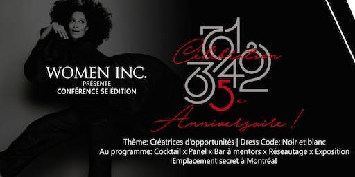 Entrepreneuriat Féminin: Célébration 5 ans de Women Included
