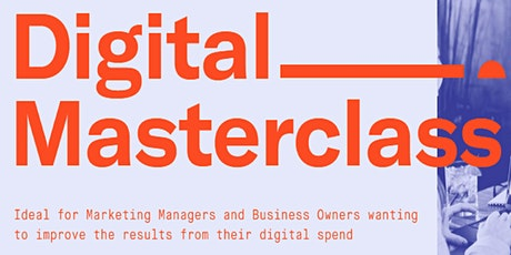 Digital Masterclass tickets