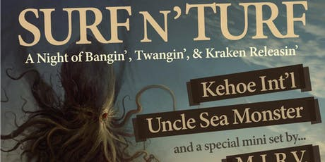 9pm - Kehoe International Residency with Uncle Sea Monster and M.I.R.V tickets