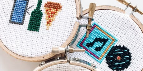 Makers Workshop: Intro to Cross Stitch tickets