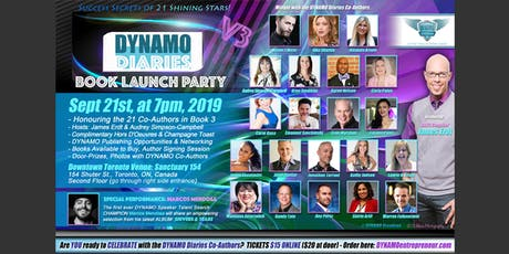 DYNAMO Diaries Book 3 - VIP Launch Party tickets