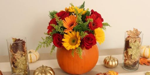 Pumpkin Spice Floral Arrangement