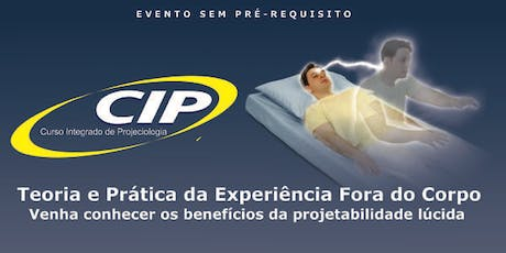 AULA EXPERIMENTAL DO CIP ingressos