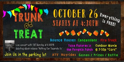 Trunk or Treat Fall Festival 2019