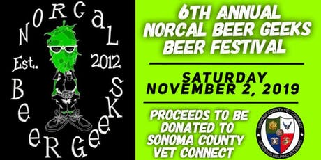 6th Annual NorCal Beer Geeks Festival tickets