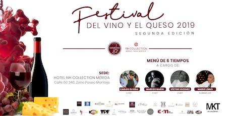 Catas del Festival del Vino y el Queso 2019 boletos