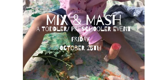 Mix & Mash: A Make & Play Pop-up Event