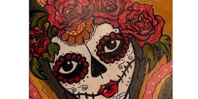 Dia de Los Muertos Calaverita Paint Night