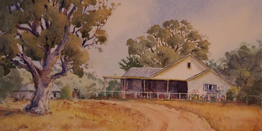 """""""A Palette of Pioneer Places"""" -An Exhibition of Paintings by Isla Patterson"""