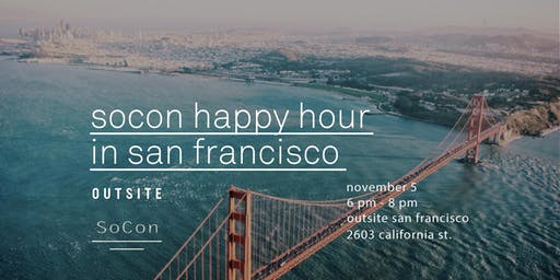 SoCon Happy Hour - San Francisco