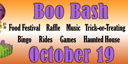 St. Elizabeth Ann Seton Catholic Church 8th Annual Boo Bash & Food Festival