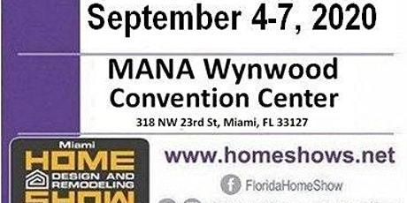Miami Home Design And Remodeling Show tickets