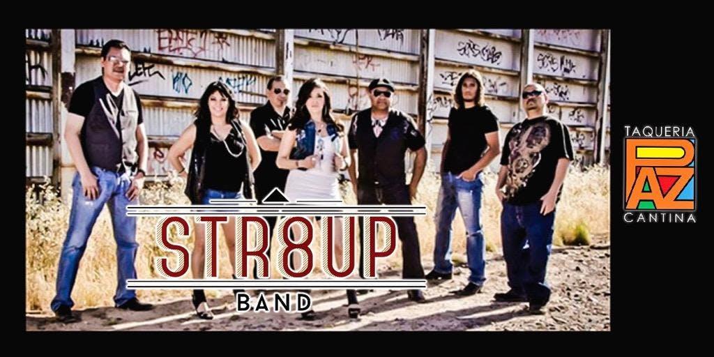 Str8 Up Band Live at Paz