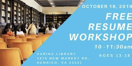 FREE RESUME WORKSHOP tickets