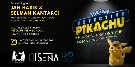 Detective Pikachu: Thunder, Lighting and Animation (Live Seminar) tickets