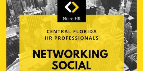 NoireHR Orlando- Networking Social tickets