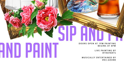 SIP X PAINT PARTY