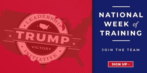 University of Dayton College Republicans TVLI Voter Registration Training