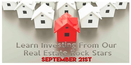 Learn Real Estate Strategies from Our Real Estate Rock Stars tickets