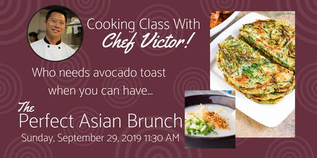 Cooking Class:  The PERFECT Asian Brunch! tickets