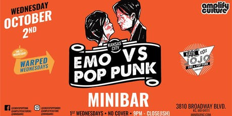 WARPED WEDNESDAYS : EMO VS. POP PUNK W/ DJ KC AND JOJO tickets