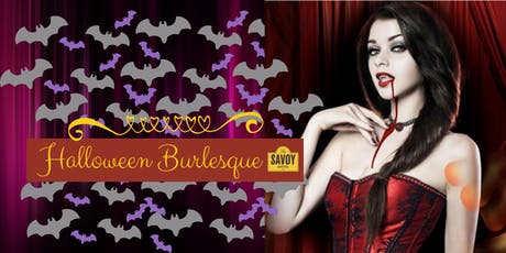 Halloween Burlesque Show & Dinner tickets