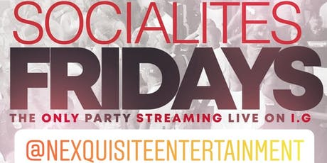 SOCIALITES FRIDAYS @ PRYMEDALLAS tickets