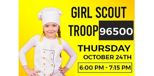 Private Class: Girl Scout Troop 96500 (2019-10-24 starts at 6:00 PM)