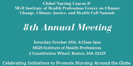 Global Nursing Caucus 2019 Health Fall Summit tickets