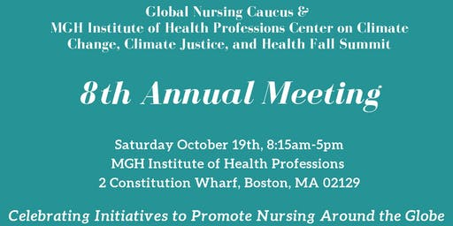 Global Nursing Caucus 2019 Health Fall Summit