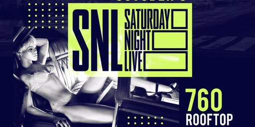 Saturday Night Lit @ SNL 760 Rooftop Hip Hop Caribbean Afrobeats Latin