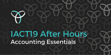 InnovationACT 2019: After Hours - Accounting Essentials tickets