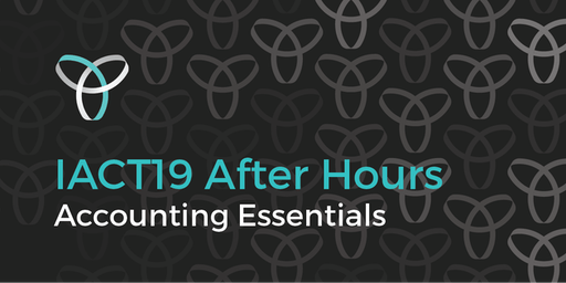 InnovationACT 2019: After Hours - Accounting Essentials