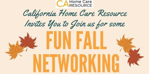 Pumpkin Patch Fall Network Event for Home Care