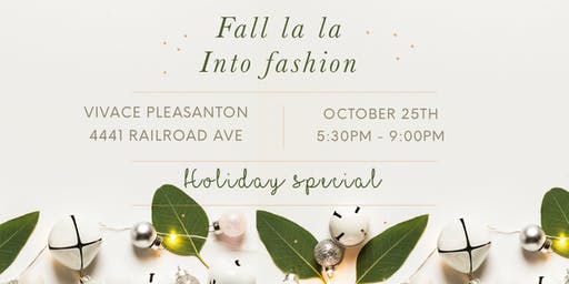 Fall-la-la into Fashion