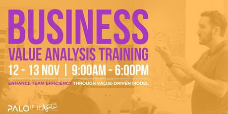 ICAgile Certified Business Value Analysis Workshop - November 2019 tickets