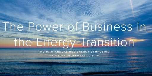 2019 HBS Energy & Environment Club Symposium