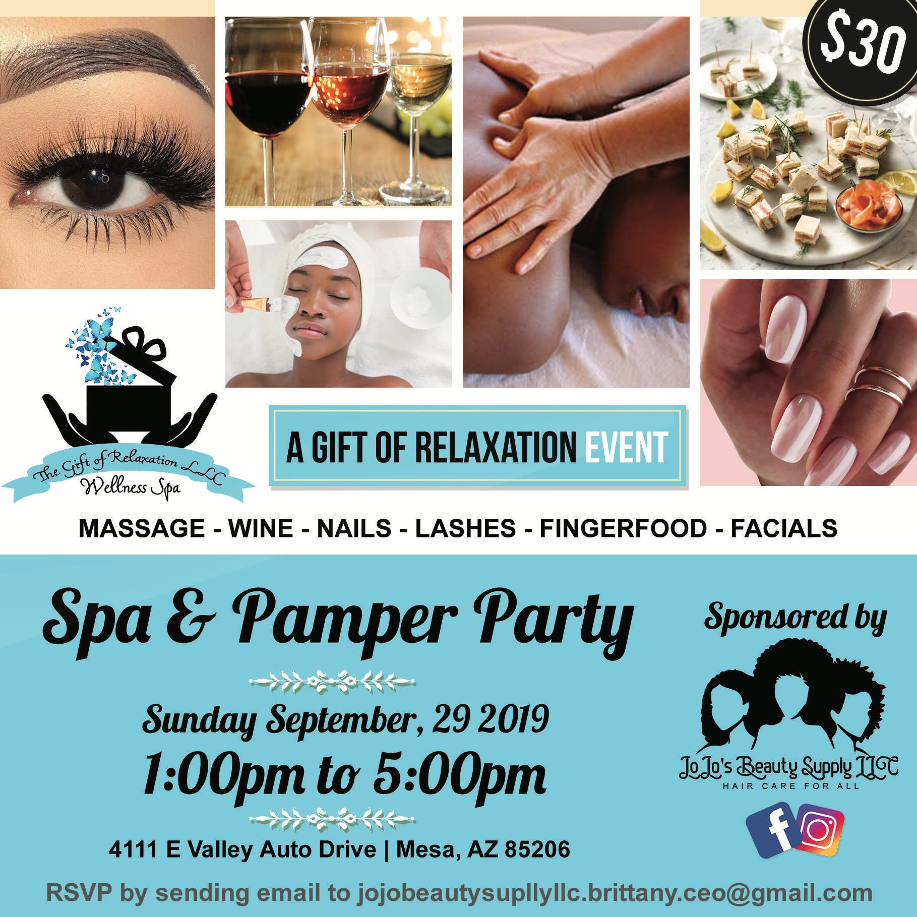 Spa & Pamper Party