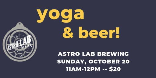 Yoga and Beer with Becca
