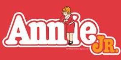 Annie, Jr. - Saturday November 23nd at 6:30pm Cast B