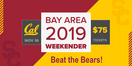 USC V. CAL 2019 Football Tickets tickets