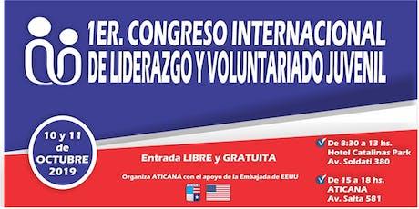 1ER. CONGRESO INTERNACIONAL DE LIDERAZGO Y VOLUNTARIADO JUVENIL entradas