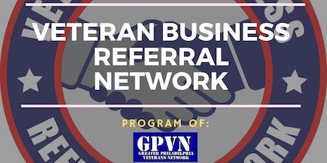 Veteran Business Referral Network - November tickets
