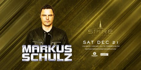 Markus Schulz / Saturday December 21st / Spire tickets