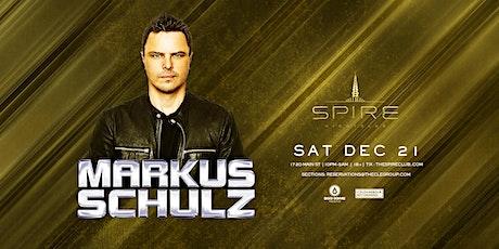 Markus Schulz / Saturday December 21st / Spire tickets