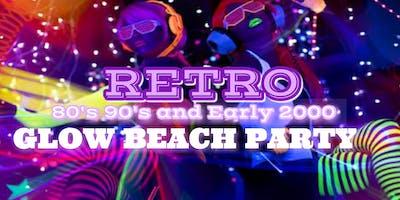 RETRO GLOW BEACH PARTY 80s 90s 00s