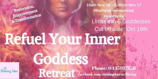 Refuel Your Inner Goddess Retreat
